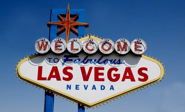 Willkommen in Las Vegas Schild