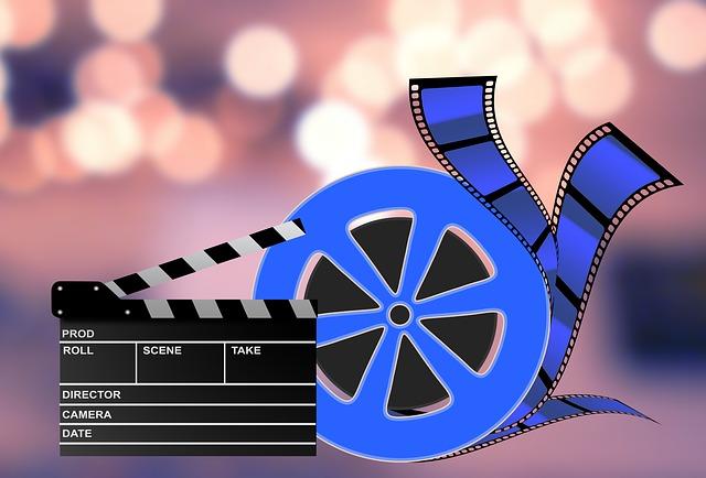 Filmrolle wie es im Kino benutzt wird
